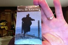 Sting- We'll Be Together/Conversation With a Dog- cassette single- new/sealed