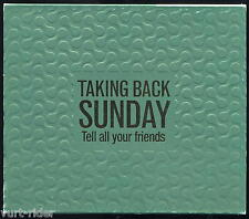 TAKING BACK SUNDAY -TELL ALL YOUR FRIENDS (CD+DVD) +promo VICTORY DVD come nuovo