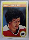 1982-83 O-Pee-Chee OPC Hockey Brad Marsh Flyers lot of 2 Hockey Cards