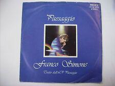 FRANCO SIMONE - PAESAGGIO  45 giri