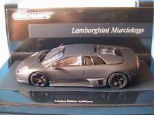 LAMBORGHINI MURCIELAGO LP640 2006 MATT BLACK MINICHAMPS 436 103921 1/43 OPACA