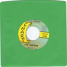 Anderson, Lynn (He Even Woke Me To Say Goodbye) Chart 5136