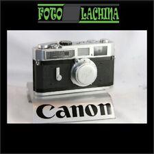 CANON 7 mount vite Leica m 39 a telemetro
