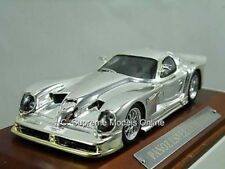 PANOZ ESPERANTE GTR-1 SPORTS CAR 1/43RD SCALE MODEL MINT PLATED FINISH (=)