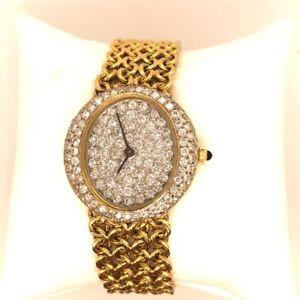 Cartier Panthère White Women's Yellow Gold Bracelet Watch - 1280