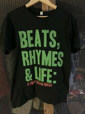 Official A Tribe Called Quest T-Shirt Raptee Beats Rhymes & Life M Vintage