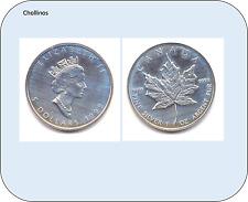 5 DOLARES DE PLATA AÑO 1999   CANADA    ( MB11420 )