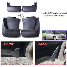 4Pcs/Set Car Mud Flap Splash Fender Guards Fit For HONDA ACCORD SEDAN 2003-2007