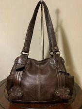 Vintage Tignanello Perfect 10 Shopper Tote Purse Black Carry-all Shoulder Bag