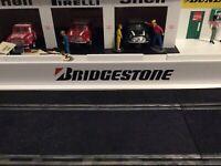 1x 1:32 Scale Bridgestone Pit Wall...Ninco Scalextric Carrera SCX Slotcar