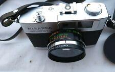 Vintage Miranda Sensoret 35mm Camera w/ Case