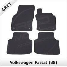 Volkswagen VW Passat B8 2014 onwards Tailored Carpet Car Floor Mats GREY