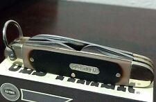 OLD-TIMER SCHRADE SCOUT HUNTING POCKET KNIFE HOBO !!!