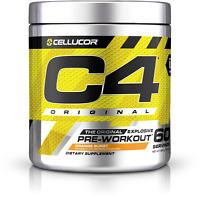 Cellucor C4 (60 Servings) Original Explosive Pre-workout Orange Burst Exp 08/20