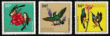 1972 Republic of Rwanda Birds Stamps set of 3 - Mint Never Hinged MNH