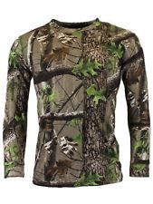 Game Trek Camo Long Sleeve T Shirt    Hunting Fishing Camo Top