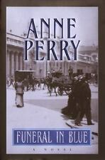 William Monk Novel: Funeral in Blue by Anne Perry (2001, Hardcover)