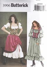 Butterick Sewing Pattern Misses' Costume Sizes 6 - 22 B3906