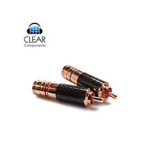 7 Pol Diodenstecker vergoldete Kontakte Neutrik-REAN DIN Stecker Metall 3 5