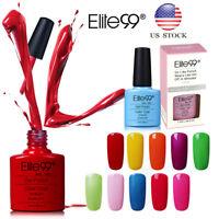 Elite99 Gel Nail Polish Manicure Soak Off  UV LED Varnish Lacquer Nail Art Box