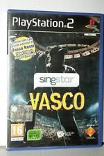 SING STAR VASCO GIOCO USATO OTTIMO STATO PS2 VERSIONE ITALIANA PAL GD1 39522
