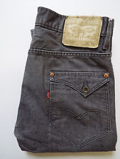 LEVI'S 508 MENS JEANS TAPERED LEG W30 L34 STRAUSS MID GREY # LEVG941