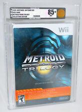 Metroid Prime Trilogy - Nintendo Wii NEW SEALED VGA 85+ GOLD