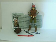 "GI Joe Budo Samurai Warrior 1988 Hasbro 3 3/4"" figure"
