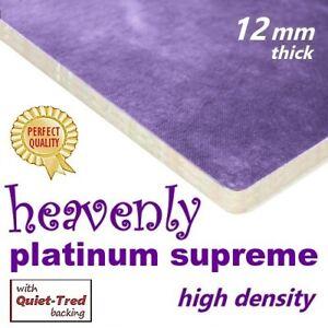 HEAVENLY PLATINUM SUPREME carpet underlay -the ultimate in underfoot comfort