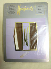 Vintage Support Stockings Nouveaute Sahara RHT Size 4 Tall 10.5-12 Brown old New