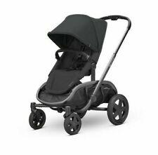 Quinny Hubb Graphite Frame Shopping Stroller- Black