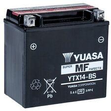 Bateria Yuasa YTX14-BS sin mantenimiento