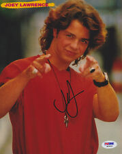 Joey Lawrence SIGNED 8x10 Photo Gimme a Break! Blossom Melissa & Joey PSA/DNA