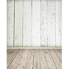 3X5FT Wood Grain Wall Floor Vinyl Photography Backdrop Studio Props Background