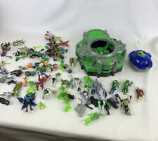 Large bundle of Ben 10 children's toys  assorted pieces and figures Battleground
