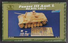ROYAL MODEL 167 - PANZER III Ausf. L Sd.Kfz.141/1 CONVERSION SET 1/35 RESIN KIT