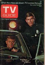 1971 TV Guide June 26 - Adam-12; Roger Bowen of Arnie; Gary Owens of Laugh-In