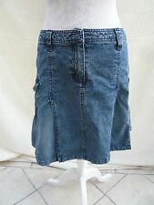 Evie shabby/chic distressed denim style skirt Size 10
