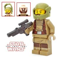 Lego Star Wars - The Last Jedi - Resistance Trooper with beard from set 75189