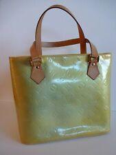 Louis Vuitton Vernis Houston Ombre Yellow Tote Handbag