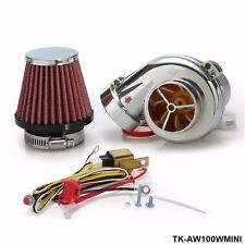 Electric Electrical TURBO TURBOCHARGER SUPERCHARGER KIT Free shipping