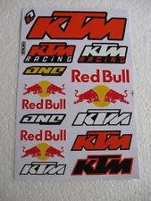Aufkleber Sticker KTM Motorradsport Auto-Tuning Motorradcross Racing Biker Race