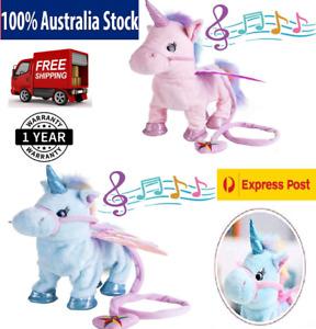 Unicorn Pet Kids Leash Twisting Super Cute Unicorn Child Girl Baby Soft Toys