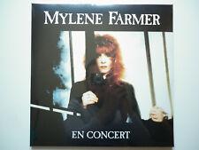 Mylene Farmer Album double 33Tours vinyles En Concert réédition