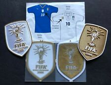 TOPPE ufficiali FIFA WC 2006 WINNER HOME / AWAY official patches *for ITALY*