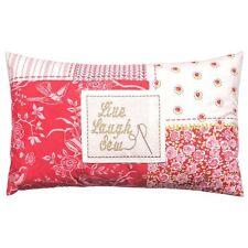Kirstie Allsopp Wilmar Strawberry Pink & Red Patchwork Cushion