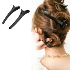 New 12Pcs Professional Matte Hairdressing Salon Sectioning Clamps Hair Clips