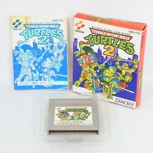 TEENAGE MUTANT NINJA TURTLES 2 Gameboy Nintendo 3066 gb