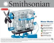 NIB New SMITHSONIAN MOTOR WORKS VISIBLE 4-CYLINDER ENGINE KIT 49013