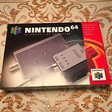 Vintage Nintendo 64 Genuine Gaming Modulator RF Switch Original Box